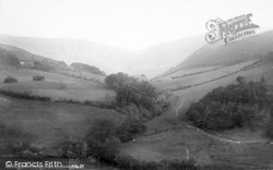 Llyfnant Valley, Cwm Rhaiadr 1892