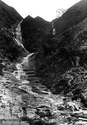 Llyfnant Valley, Cwm Rhaidr Falls 1892