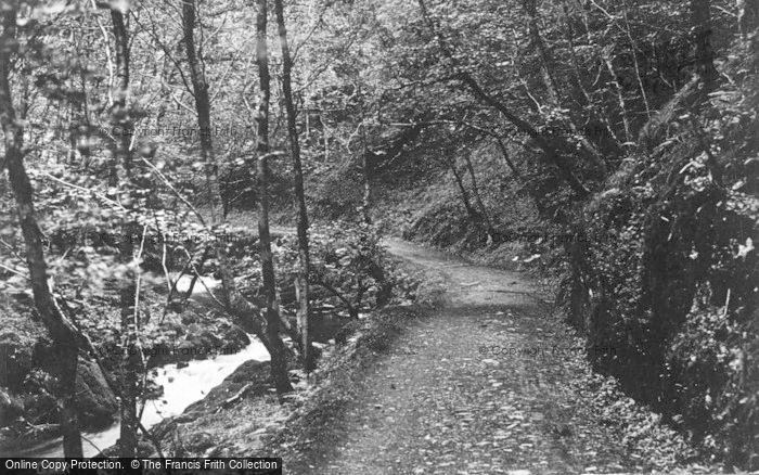 Photo of Llyfnant Valley, In The Valley c.1935
