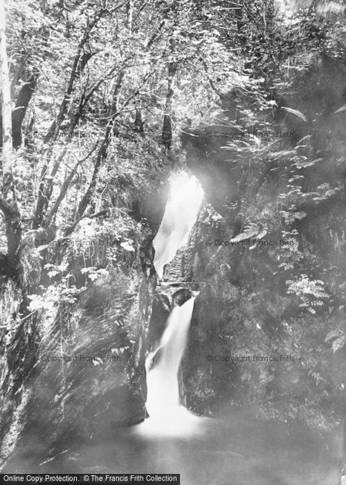 Photo of Llyfnant Valley, The Falls 1892