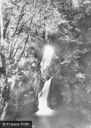 Llyfnant Valley, The Falls 1892