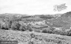Llynclys, Tanat Valley From Llynclys Hill c.1960
