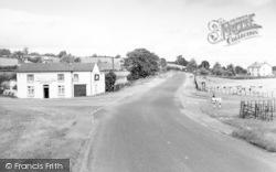 Llynclys, The Cross Roads c.1960