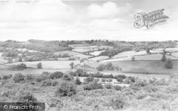Llynclys, View From Llynclys Hill c.1960