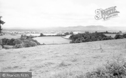 Llynclys, View From Sweeney Mountain c.1960