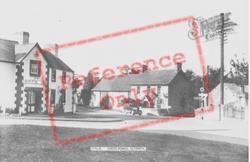 Llyswen, Cross Roads c.1955