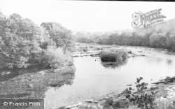 Llyswen, General View, Boughrood c.1960