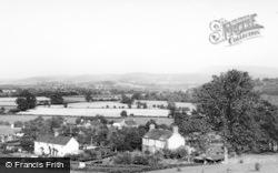 Llyswen, General View c.1960