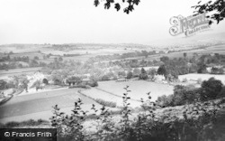 Llyswen, The Bridge And Horseshoe Bend c.1960