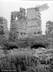 Loch Assynt, Ardvreck Castle 1952