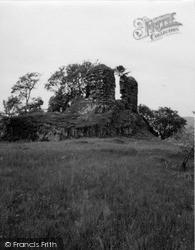 Loch Awe, Fincharn Castle 1955