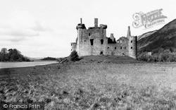 Loch Awe, Kilchurn Castle 1959