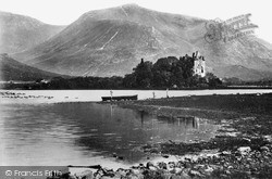 Loch Awe, Kilchurn Castle And Ben Cruachan c.1900