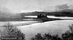 Loch Awe, Kilchurn Castle c.1890