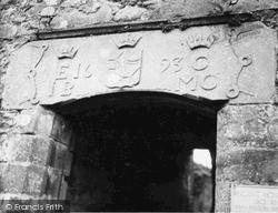 Loch Awe, Kilchurn Castle Lintel 1949