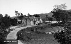 Loch Awe, The Taychreggan Hotel c.1900
