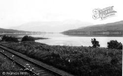 Loch Eil, Ben Nevis In Distance 1957