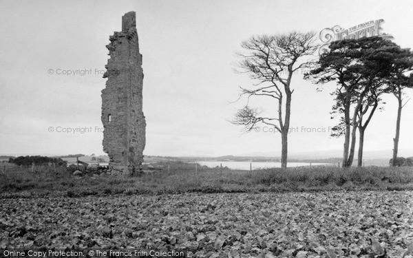 Loch Eye, Lochslin Castle 1952