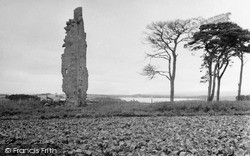Loch Eye, Lochslin Castle 1952
