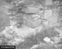 Loch Eye, Lochslin Castle, Drain 1952