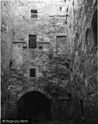 Loch Fyne, Castle Lachlan Courtyard 1960