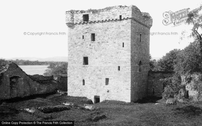 Loch Leven, the Castle c1890