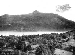 Loch Lomond, Ben Lomond From Tarbert 1901