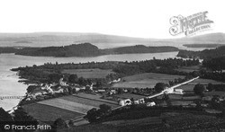 Loch Lomond, The Islands From Luss c.1890