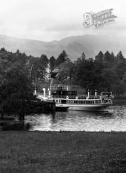 The 'prince George' At Ardlui c.1940, Loch Lomond