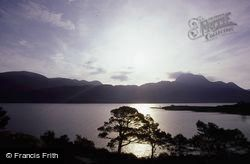 And Siloch From Bridge Of Grudie At Dawn c.1985, Loch Maree