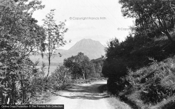 Photo of Loch Maree, And Slioch c.1932