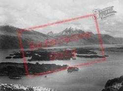 The Islands And Slioch c.1935, Loch Maree