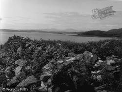 Loch Melfort, View From Dun 1955