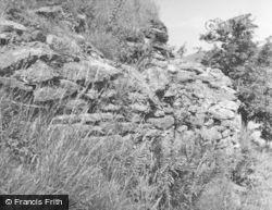 Loch Sween, Dun Mhuirich, Curved Outer Wall 1955