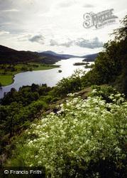 Loch Tummel, The Queen's View 1984