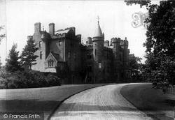 Loch Turret, Castle c.1910