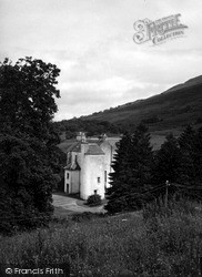 Lochearnhead, Edinample Castle 1955