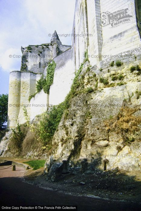 Photo of Loches, The Castle c.1984