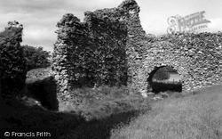 Lochmaben, Lochmaben Castle 1963