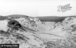 Lochmaddy, Sand Dunes, Berneray c.1960