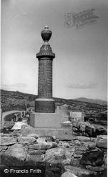 Lochmaddy, War Memorial, Berneray c.1960