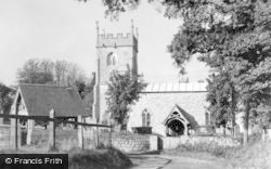 Lockeridge, The Church c.1955