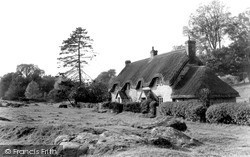 Lockeridge, The Dene c.1955
