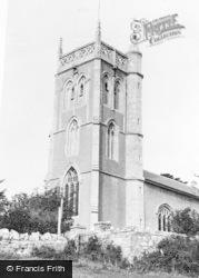 Locking, St Augustine's Church c.1955