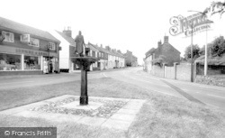 Loddon, High Street And Town Sign c.1960