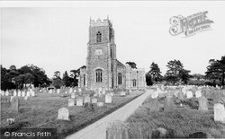 Loddon, Holy Trinity Church c.1960
