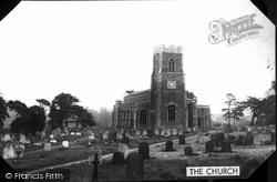 Loddon, Holy Trinity Church c.1968