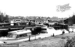 Loddon, Riverside c.1968
