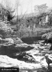 Lofthouse, The Bridge, How Stean Gorge c.1932