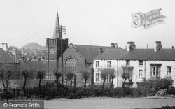Loftus, Congregational Church From Coronation Park c.1960